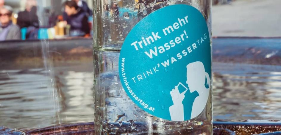 TRINK'WASSERTAG 2021 – Wir feiern unser Lebensmittel Nummer 1