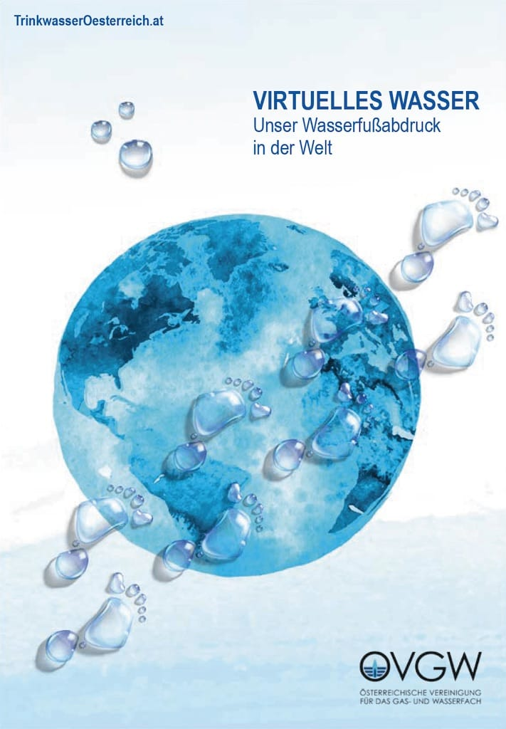 Virtuelles Wasser - Fussabdruck